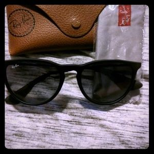 Black Erika Ray bans sunglasses